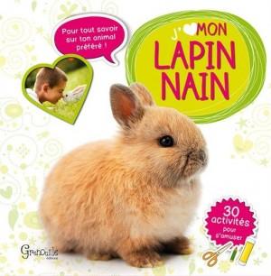 "Afficher ""J'aime mon lapin nain"""