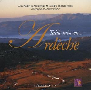 """Afficher """"Table mise en Ardèche"""""""