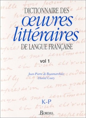 """Afficher """"Dictionnaire des littératures de langue française n° 3"""""""
