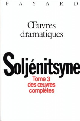 "Afficher ""Oeuvres / Alexandre Soljénitsyne n° 3 ?uvres"""