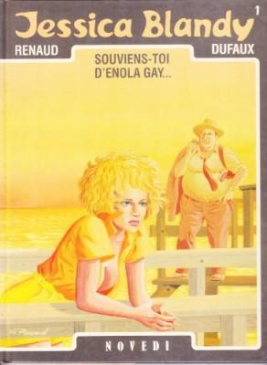 "Afficher ""Jessica Blandy n° 1 Souviens toi d'Enola Gay..."""