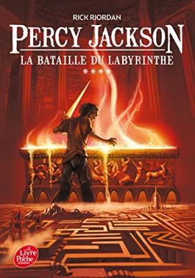 """Afficher """"Percy Jackson n° 4 Bataille du labyrinthe (La)"""""""