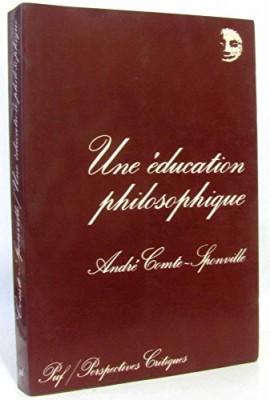 """Afficher """"Une éducation philosophique"""""""