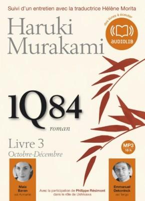 """Afficher """"1Q84 (livre-CD) n° 3 1Q84 : Livre 3 Octobre-décembre"""""""