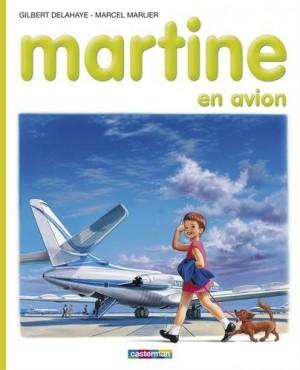 "Afficher ""Martine en avion"""