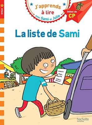 """Afficher """"J'apprends à lire-Sami & Julie La liste de Sami"""""""