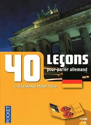 """Afficher """"40 leçons pour parler allemand"""""""