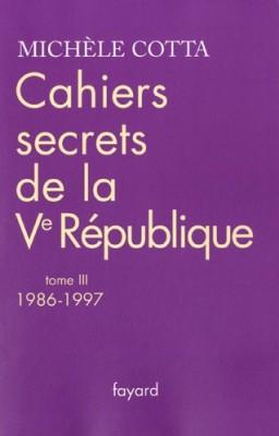 """Afficher """"Cahiers secrets de la Ve République n° 3"""""""