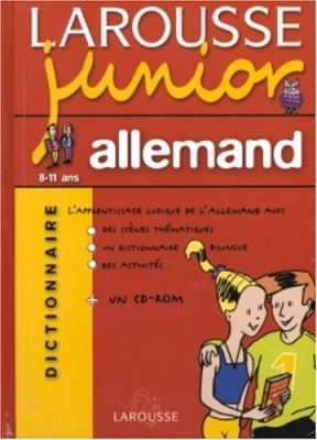 "Afficher ""Larousse junior allemand"""