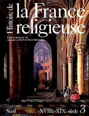 """Afficher """"Histoire de la France religieuse n° 3"""""""