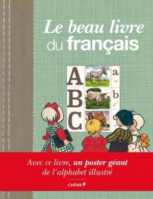 8b12cd630a3b Description   Ouvrage au graphisme rétro qui offre une plongée nostalgique  dans l apprentissage du français autrefois   alphabets d enfants