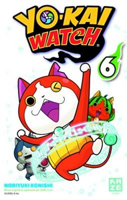 """Afficher """"Yo-kai watch n° 6 Yo-Kai watch"""""""
