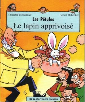 """Afficher """"Pétules (Les) n° 3 Le lapin apprivoisé"""""""