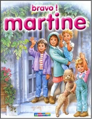 """Afficher """"Martine n° 9 Bravo ! Martine"""""""