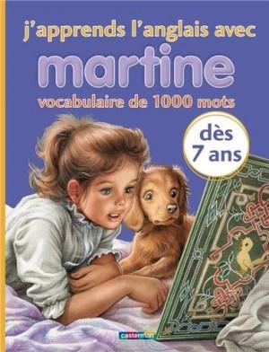 """Afficher """"J'apprends l'anglais avec Martine"""""""