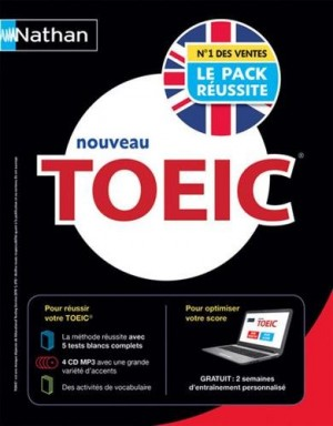 """Afficher """"Le pack réussite TOEIC"""""""