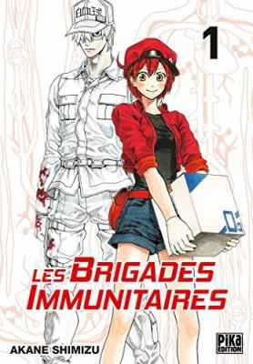 vignette de 'Les brigades immunitaires n° 1<br /> Tome 1 (Akane Shimizu)'