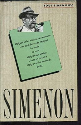 "Afficher ""OEuvre romanesque / Georges Simenon n° 1 OEuvre romanesque"""