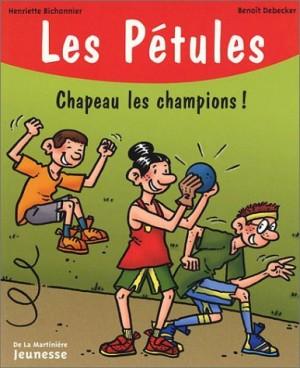 """Afficher """"Pétules (Les) n° 15 Chapeau les champions !"""""""