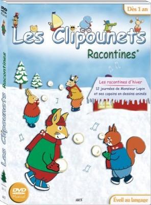 """Afficher """"Clipounets (Les) Les clipounets - Les racontines d'hiver"""""""
