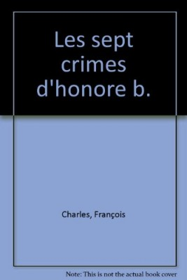 "Afficher ""Les 7 crimes d'Honoré B."""