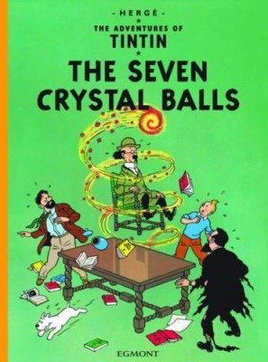 "Afficher ""The adventures of Tintin The seven crystal balls"""
