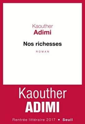 vignette de 'Nos richesses (Adimi, Kaouther)'