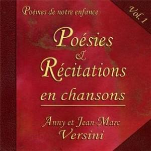 """Afficher """"Poésies & récitations en chansons, vol. 1"""""""