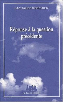 """Afficher """"Réponse à la question précédente"""""""