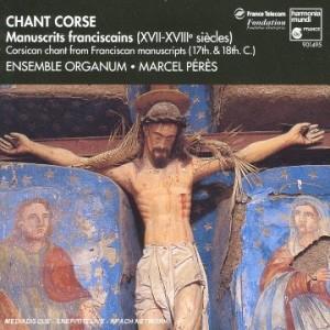 "Afficher ""Chant Corse : Manuscrits franciscains (XVII-XVIIIè siècles)"""