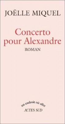"""Afficher """"Concerto pour Alexandre"""""""