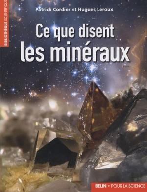 """Afficher """"Ce que disent les minéraux"""""""