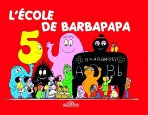 """Afficher """"Les albums Barbapapa<br /> L'école de Barbapapa"""""""
