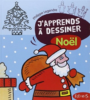 """Afficher """"J'apprends à dessiner Noël"""""""