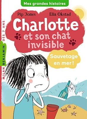"""Afficher """"Charlotte et son chat invisible Sauvetage en mer !"""""""