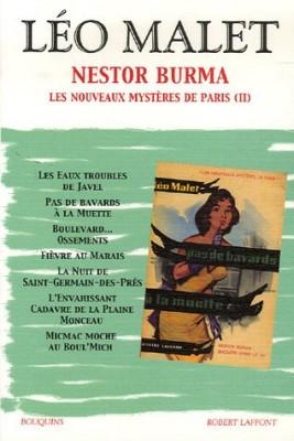 """Afficher """"Nestor Burma n° 3 Les nouveaux mystères de Paris"""""""
