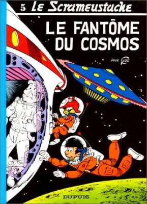 """Afficher """"Le Scrameustache . n° 5 Le scrameustache: Le Fantôme du cosmos Vol 5"""""""
