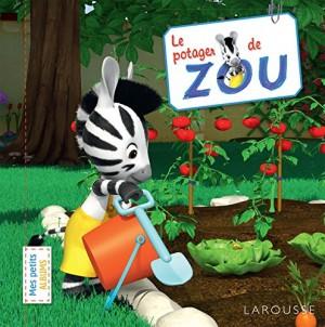 """Afficher """"Mes petits albums Le potager de Zou"""""""