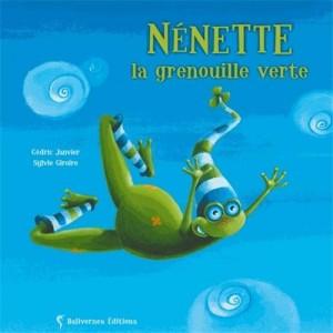 """Afficher """"Nénette la grenouille verte"""""""