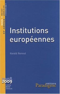 """Afficher """"Institutions européennes"""""""