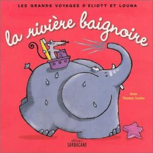 """Afficher """"grands voyages d'Eliott et Louna (Les) rivière baignoire (La)"""""""