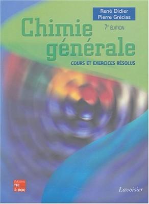 """Afficher """"Chimie générale"""""""