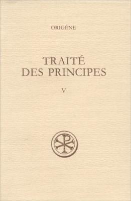"""Afficher """"Traité des principes Tome V"""""""