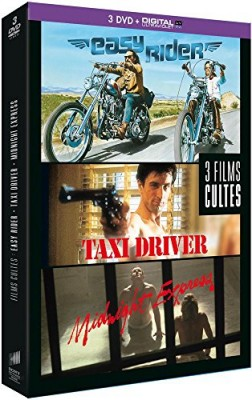 "Afficher ""Coffret Films cultes : Easy Rider + Taxi Driver + Midnight Express"""