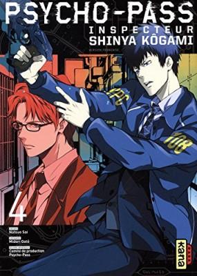 """Afficher """"Psycho-Pass - Inspecteur Shinya Kôgami n° 4"""""""