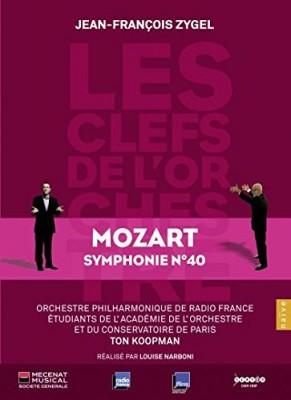 """Afficher """"Clès de l'orchestre (Les) : Mozart symphonie N ̊40 K 550"""""""