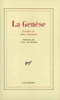 """Afficher """"La Genèse"""""""