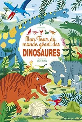 """Afficher """"Mon tour du monde géant des dinosaures"""""""