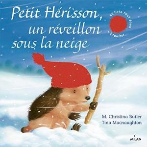 vignette de 'Petit hérisson, un réveillon sous la neige (M. Christina Butler)'