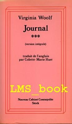 "Afficher ""Journal / Virginia Woolf. n° 3 Journal"""